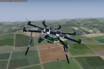 Logistical Support UAV developed for the military supply chain. Photo: Technion Faculty of Aerospace Engineering