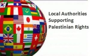 local authorities supporting palestine