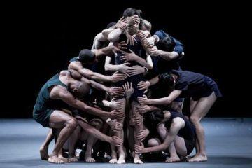 Des danseurs de la Batsheva en répétition à Jérusalem (EPA/ABIR SULTAN)Company