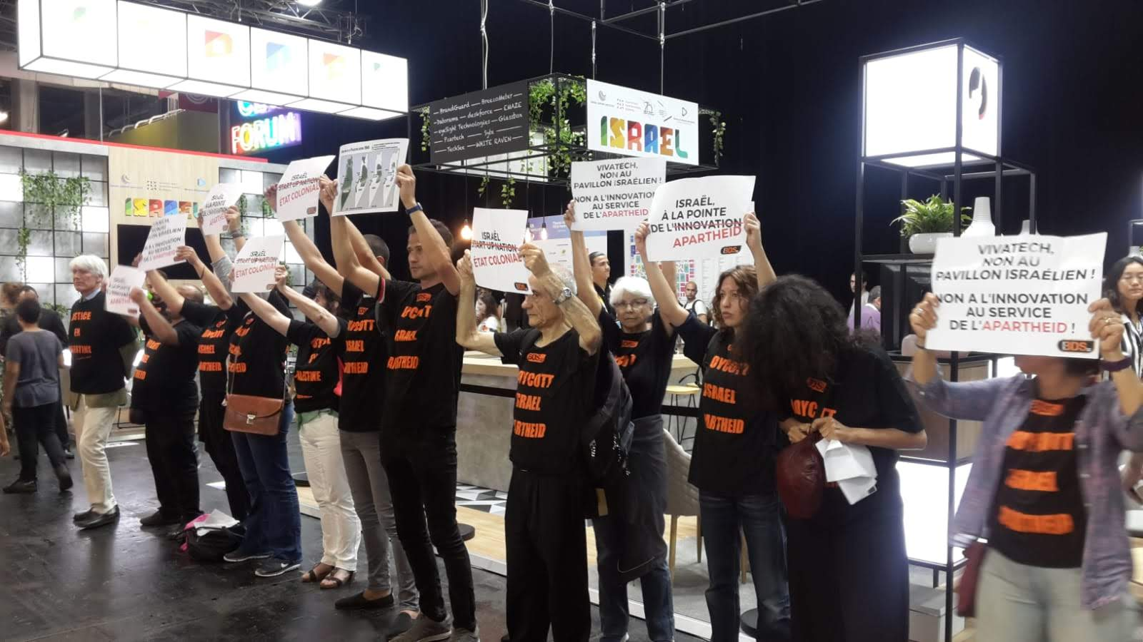Action bds au salon vivatech 2018 non l innovation au for Salon de l innovation technologique