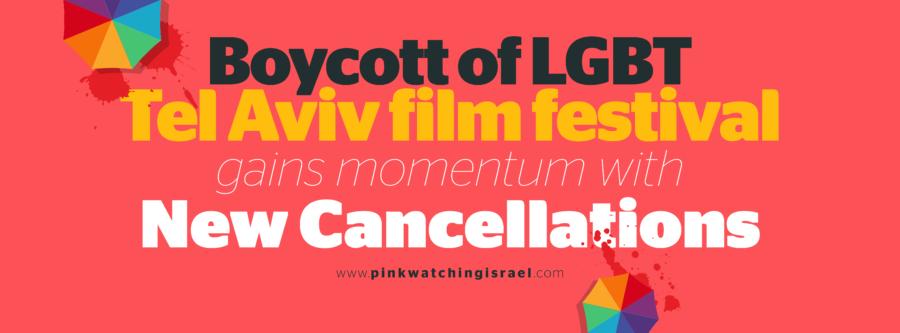 8e9667b2772e8 Le boycott du Festival de films LGBT de Tel Aviv s amplifie après de  nouvelles annulations