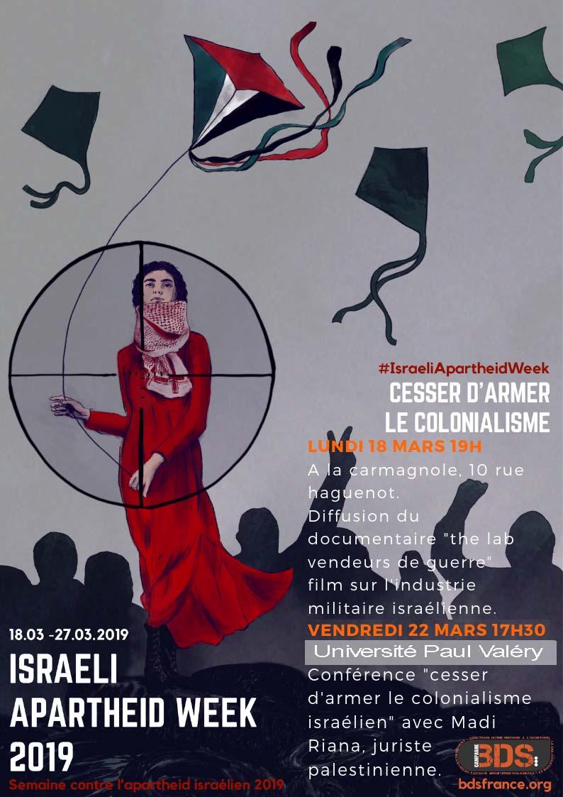 La semaine internationale contre l'apartheid israélien aura bien lieu malgré les pressions des officines sionistes.