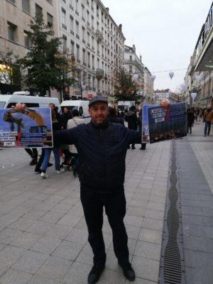 Action #AXA à Lyon le 30/11/2019